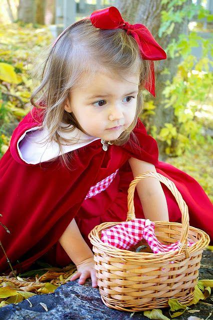 DIY: Little Red Riding Hood Costume/Cloak 2T-4T