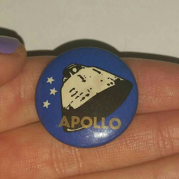 Check out this item in my Etsy shop https://www.etsy.com/ca/listing/572384506/rare-apollo-rocket-satellite-pin-brooch