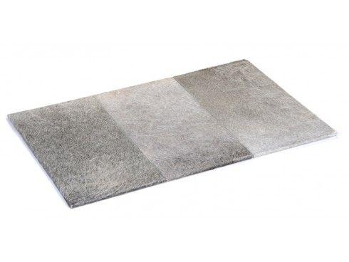 Hairon Leather Grey Desk Blotter