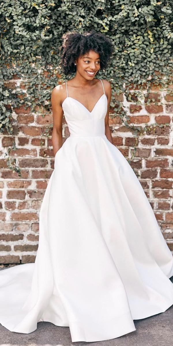 30 Simple Wedding Dresses For Elegant Brides Wedding
