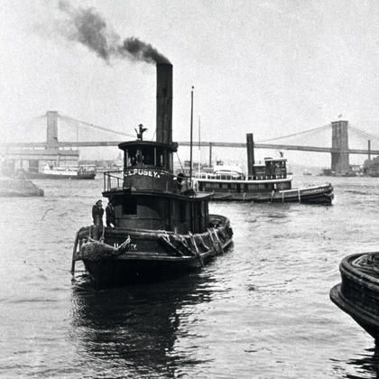 143 best images about tug boats on pinterest tug boats for Brooklyn fishing boat