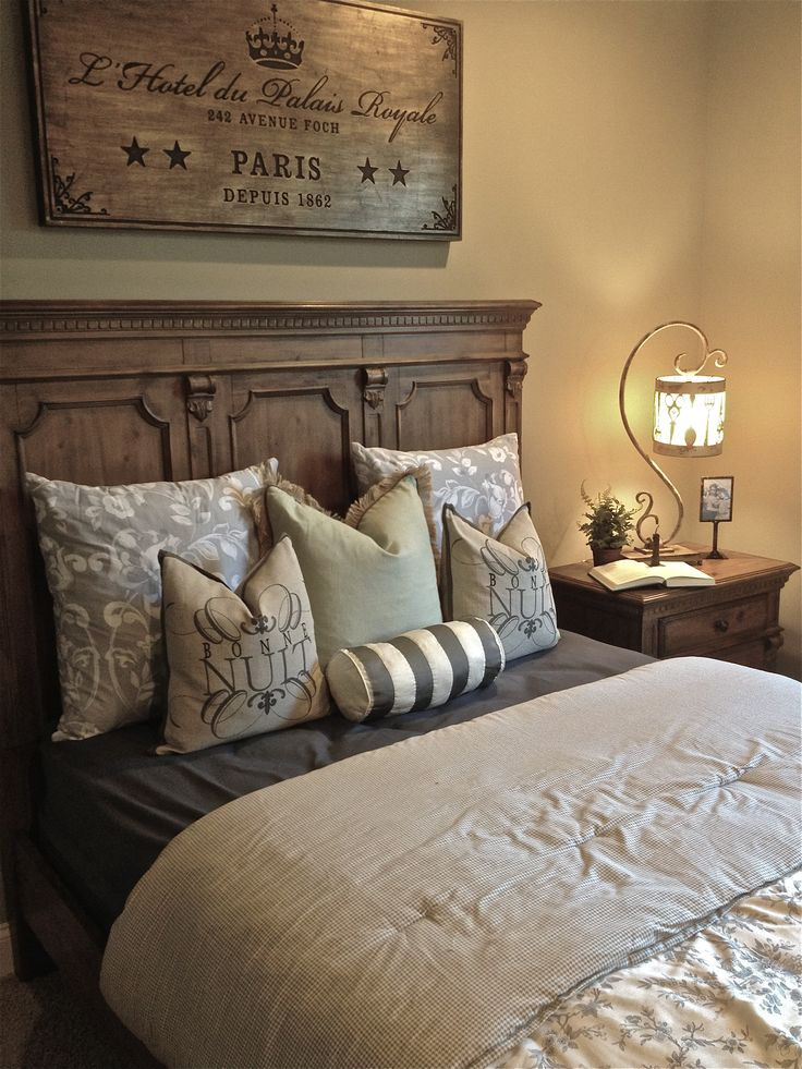 Clarence Driftwood Panel Bed | Design With Us Furniture