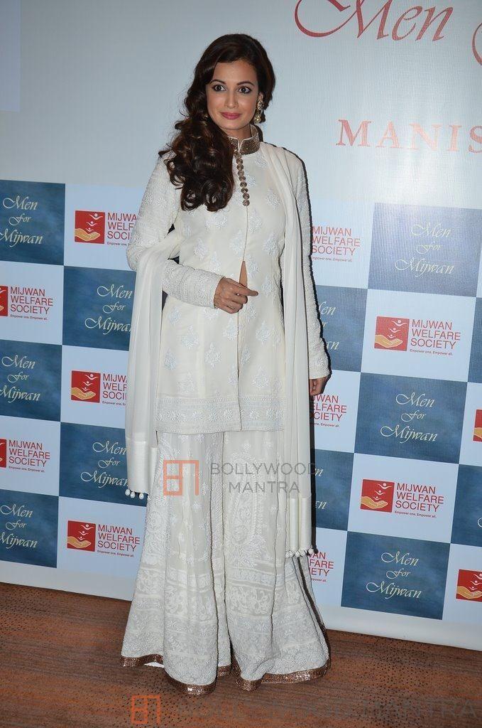 Diya Mirza | MIJWAN Welfare Society Fashion Show 2014