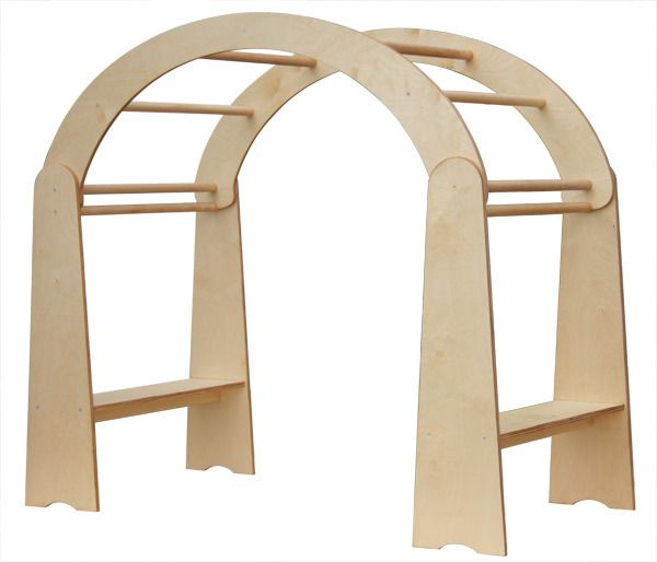 Waldorf Spielständer, Klettergerüst für drinnen von Goldrabe auf DaWanda.com