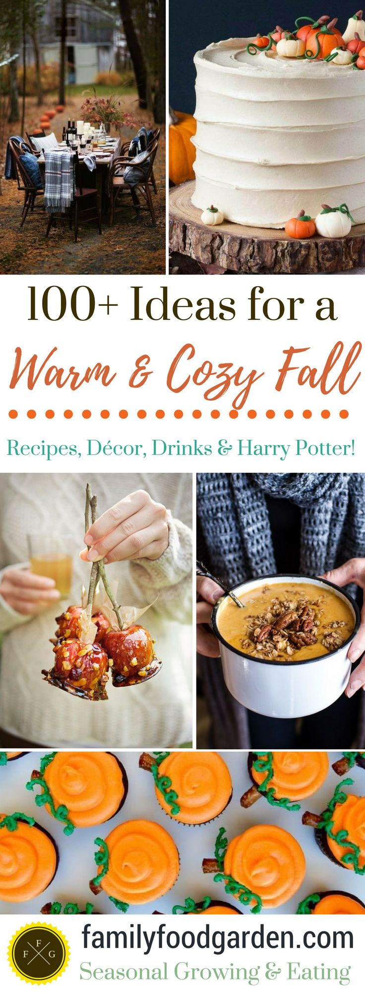 100+ Ideas for Fall Decor, Fall Drinks & Autumn Recipes