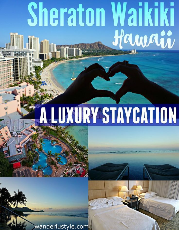 Sheraton hotel, perfect place to stay in Waikiki | Wanderlustyle.com