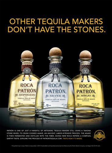 Patron Embraces Tequila's Artisanal Roots with Launch of Roca Line   Co.Create   creativity + culture + commerce