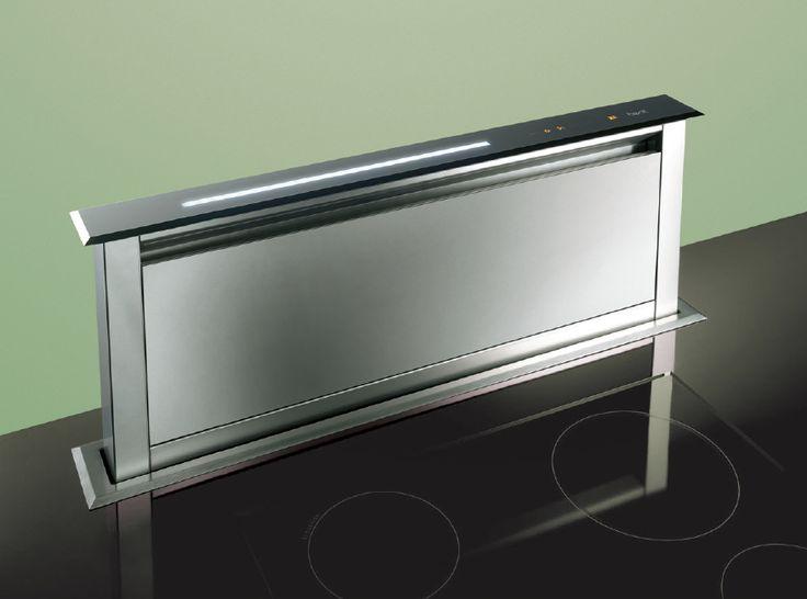 kitchen hood by mina for minacciolo futuristic mammut extractor