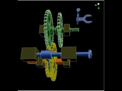 Механизм переключения передач 1а