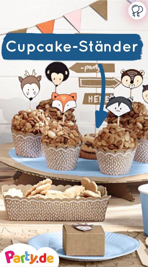 Cupcake Ständer Für Ins Oder Süßigkeiten Mehr Party Deko Gibt Es Auf