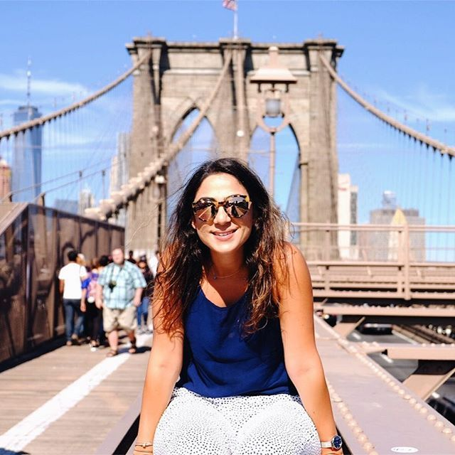 Ozge Hiz / Brooklyn Bridge, New York, traveling