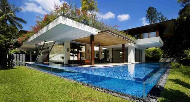 Confused.....: Dreams Houses, Cool Houses, Swim Pools, Pools Houses, Pool Houses, Cool Pools, Awesome Pools, Pools Design, Tangga Houses
