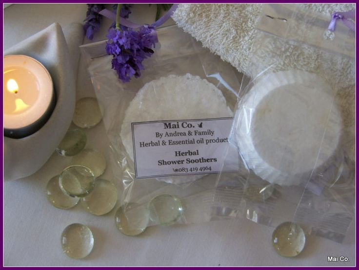 Mai Co Herbal Shower Soother makes a wonderful gift for any occasion. Place on the shower floor allowing the water to dissolve the puck, naturally releasing the fragrant essential oils and creating a spa shower.