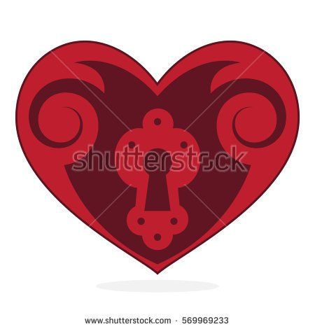 Vector heart - Valentine's day symbol