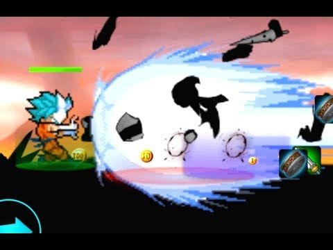 Super Saiyan Shadow Stick Battle (by Classic dos game) - Android Gamepla...