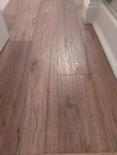 Marvelous Home Decorators Collection Distressed Brown Hickory 12 Mm Thick X 6 1/4 In.  Wide X 50 25/32 In. Length Laminate Flooring (15.45 Sq. Ft. / Case)