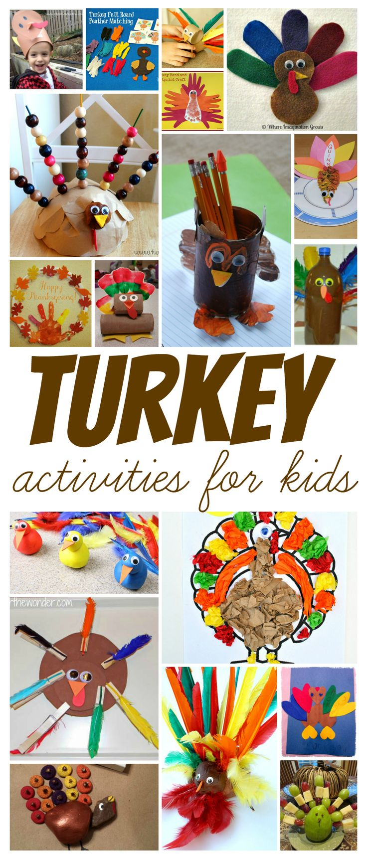 15+ Thanksgiving Turkey Activities for Kids