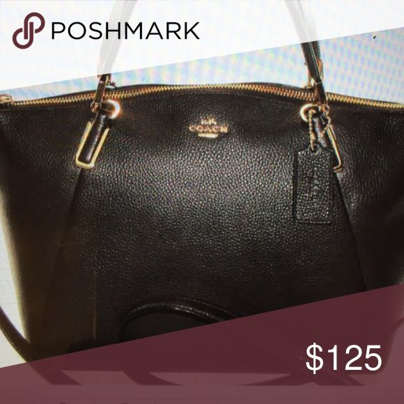 Coach Bags - Coach Kelsey Expresso Brown Leather CrossBody