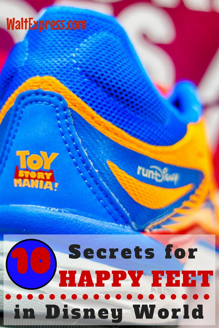 Top 10 Secrets to Keeping Your Feet Happy in Disney World
