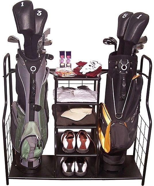 Sports Organizer For Garage Sporting Equipment Storage Rack For Golf  Accessories #Generic