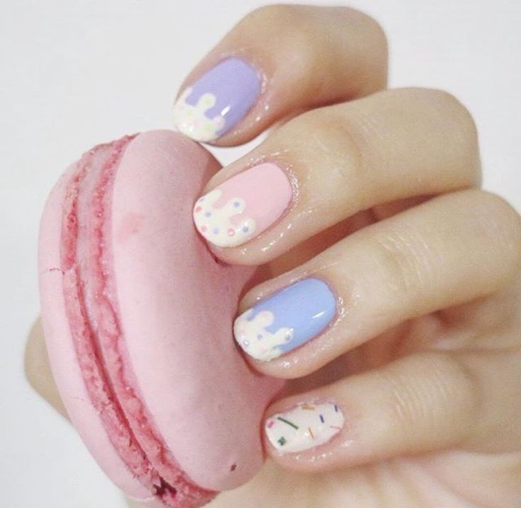 Frosting And Sprinkles Nails