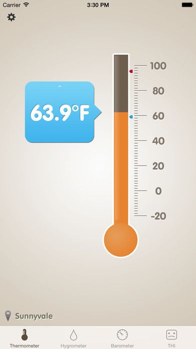 SAVE $1.99: Thermo-Hygrometer (Barometer Feels Like THI) gone Free in the Apple App Store. #iOS #iPhone #iPad  #Mac #Apple