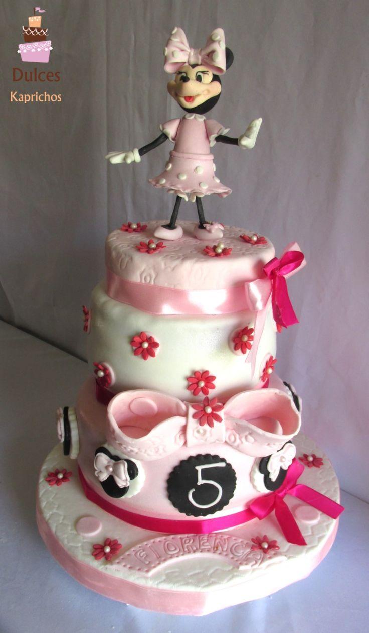 Torta Minnie #TortaMinnie #TortasDecoradas #DulcesKaprichos