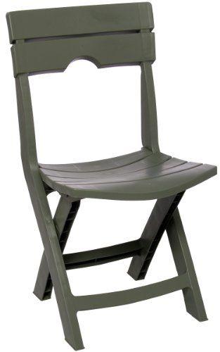 Adams Manufacturing 8575-01-3700 Quik-Fold Chair Sage