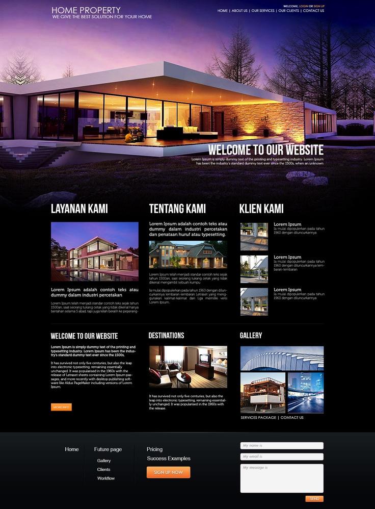Home Property Website
