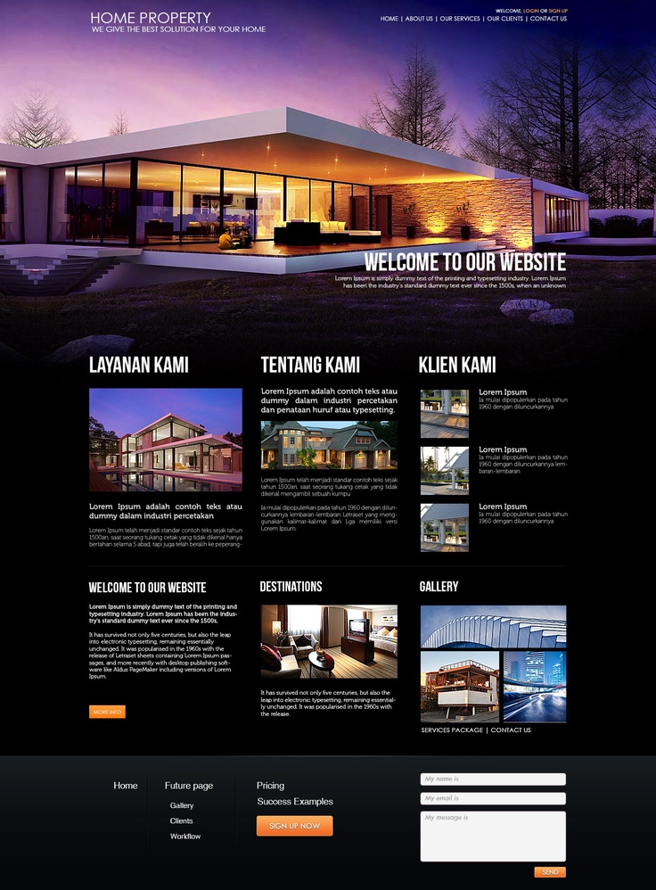 Home Property Website
