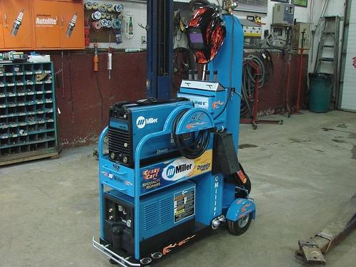 Miller Welding Equipment.