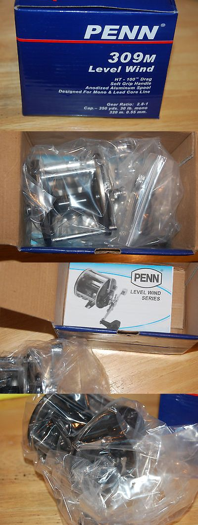 Other Fishing Reels 166159: Penn Level Wind 309M Fishing Reel Line Fresh Or Saltwater Refurbished By Penn BUY IT NOW ONLY: $47.45