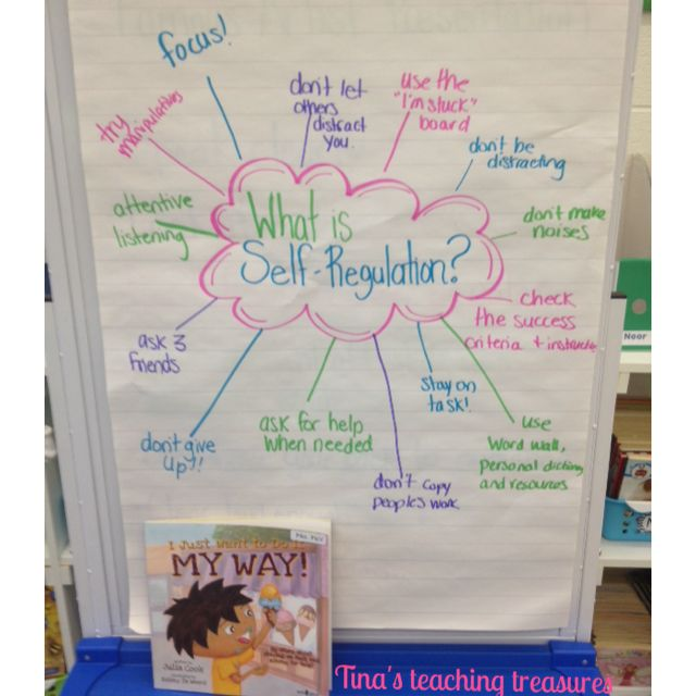"Self-Regulation with Read Aloud ""I just want to do it my way"" by Julia cook"