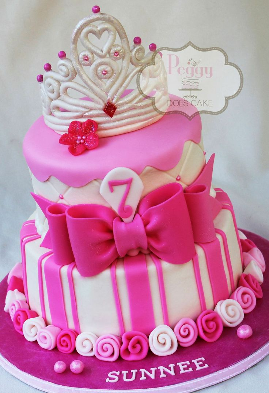 46 best tiara cake images on Pinterest Sugar Cake decorating