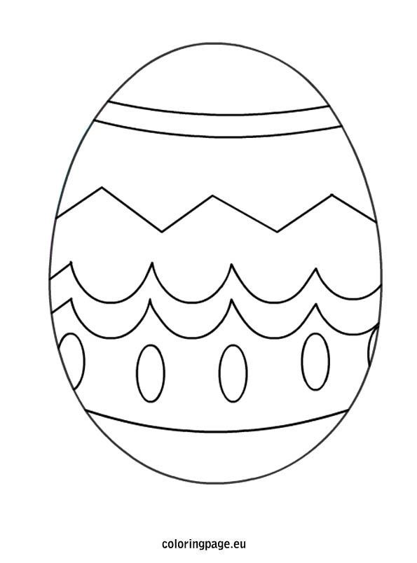 Spring Coloring Pages Templates Coloring Easter Eggs Spring Coloring Pages Easter Coloring Book