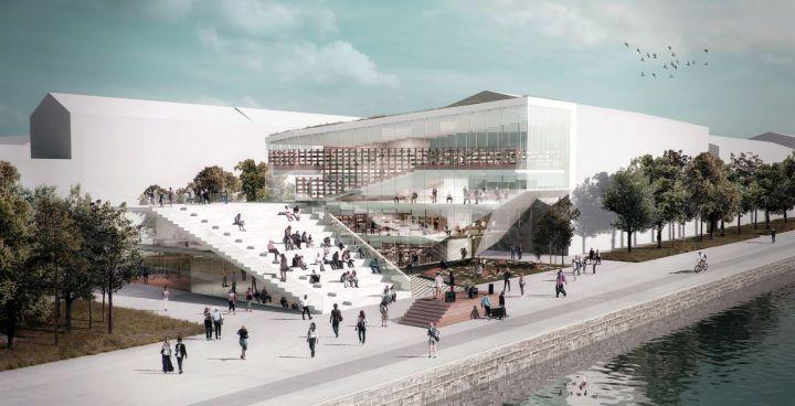 Nathalie Eldan Architecture | Copenhagen's New Modern Library