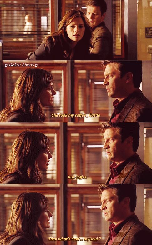 I love Castle's face in the first one.