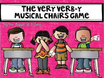 Is it a verb? Is it a noun? Playing Very Verb-y Musical Chairs is a fun, whole class activity that gets students to practice grammar while moving, acting, and learning all at the same time! I have even included a recording sheet so that students can keep track of all they learned during the game!