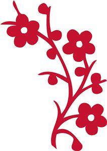 View Design: flower branch