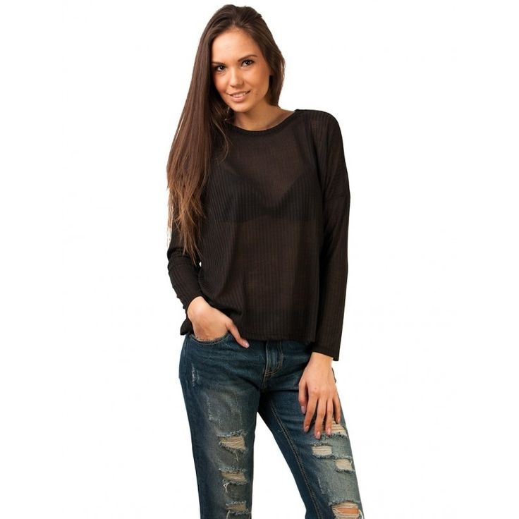 Bluza Casual So Fine Black