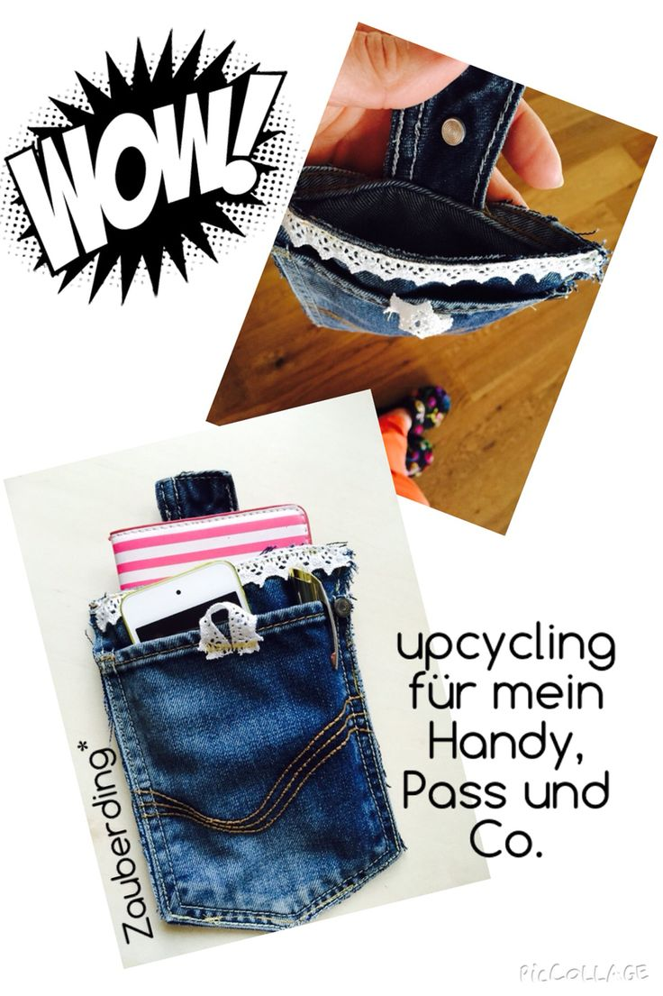 upcycling einer Kinderjeans- voll cool!
