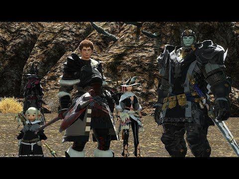 FFXIV Warriors Of Darkness Boss Fight