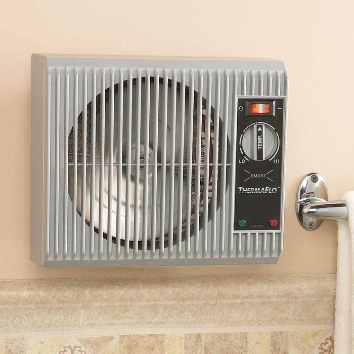 High Quality Heater Easily Mounts On A Standard Wall Outlet  No Tools Or Electricians  Needed.