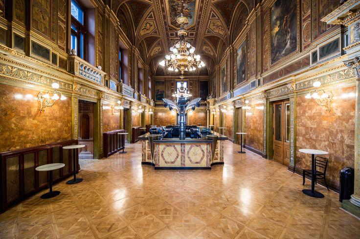 opera beltér, interior, achitecture