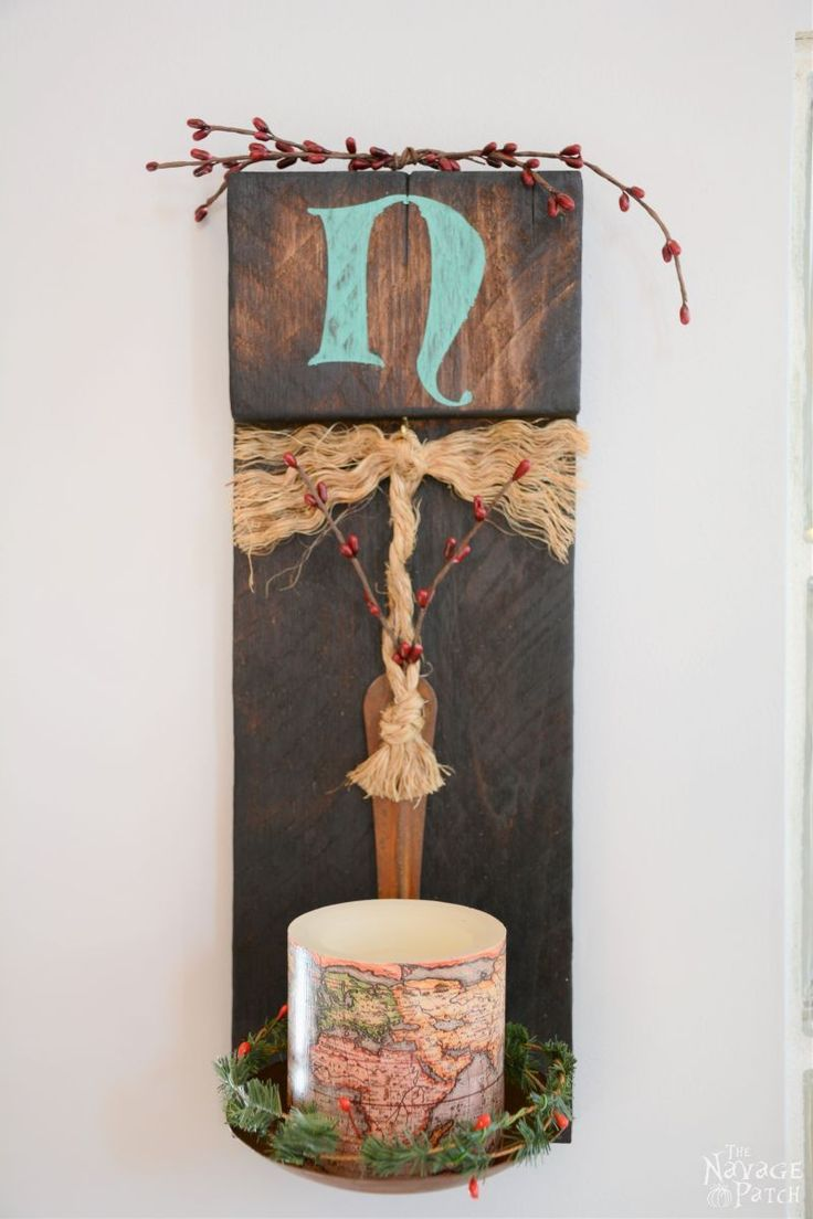 Diy wall sconces from scrap wood