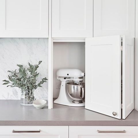 "142 Likes, 14 Comments - { Sally Rhys-Jones } (@sally_rhys_jones) on Instagram: ""When designing kitchens with clients we discuss what appliances they have, how & when they use them…"""