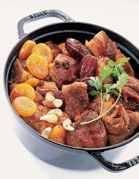 Daube de porc aux fruits secs pour 4 personnes - Recettes Elle à Table