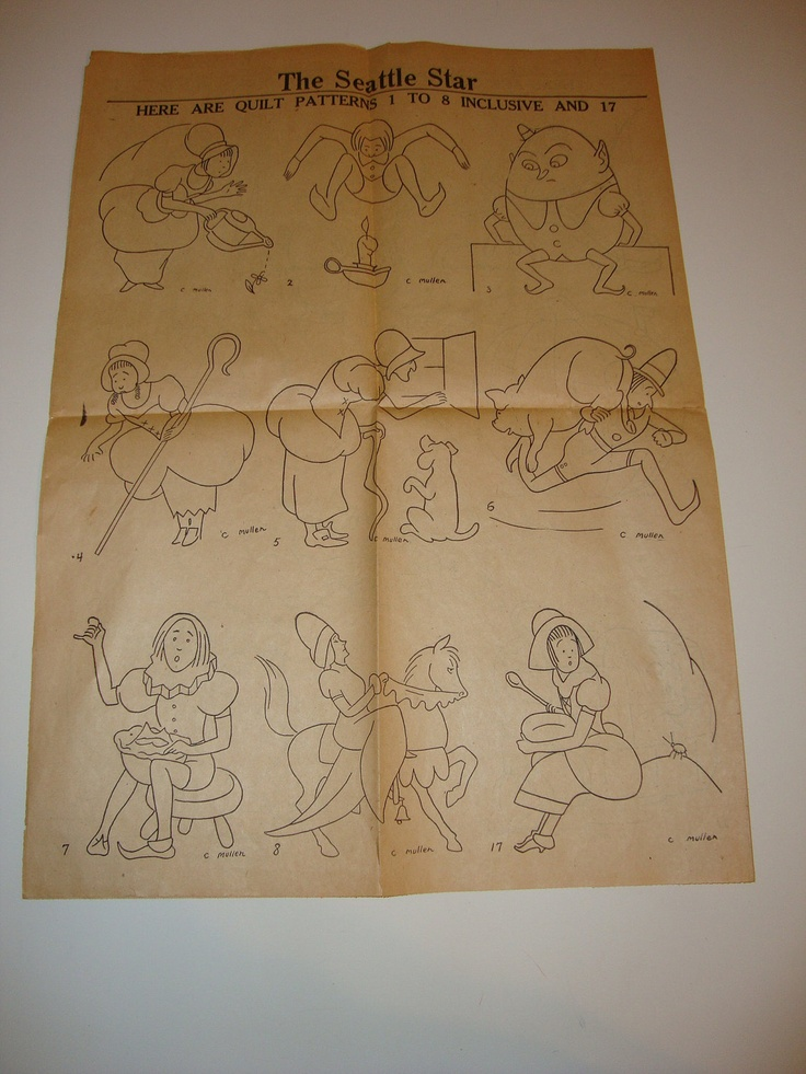 Free shipping rare s vintage mother goose nursery