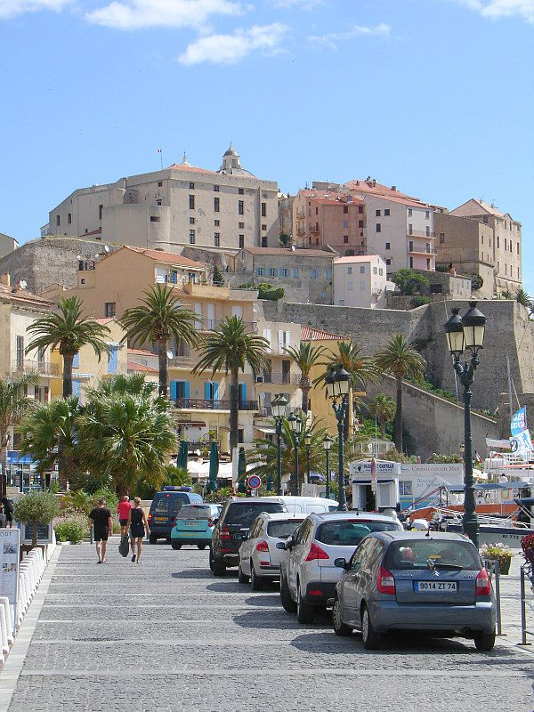 Calvi, Corse - Arrive here by boat - magical. Have cocktails in the glamorous marina cafes. Say goodbye each year with the view of the citadel - until next time... ❤ ℒℴvℯly