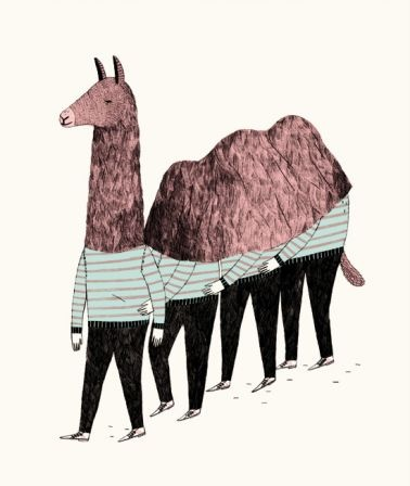 Amelie FontaineArt Painting Drawing Illust, Illustra Design Art, Ames Fontaine, Amelie Fontaine, Ames Drawing, Illustration, Llamas Animal, Amélie Fontaine